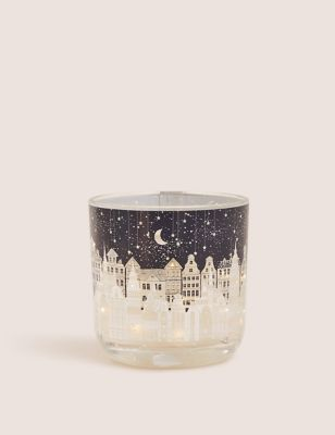 Townhouse Light Up Candle M S