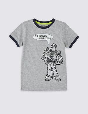 d6433e94e00f2d Toy Story™ Buzz T-Shirt (3 Months - 7 Years) | M&S