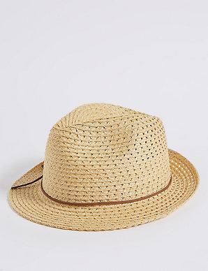 8e626c748e0 Trilby Hat | M&S Collection | M&S