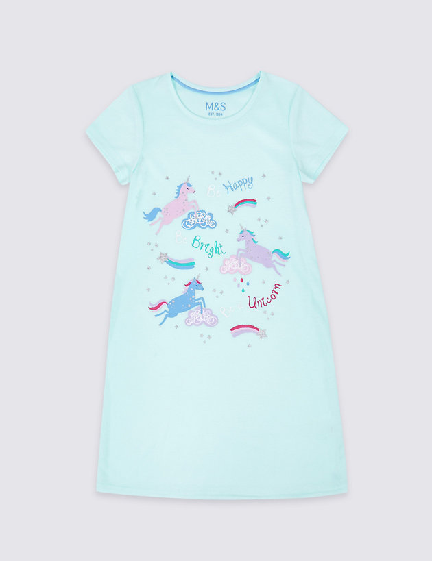 Unicorn Nightdress (3-16 Years)