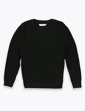 d207c7093 Unisex Wool Blend Jumper | M&S