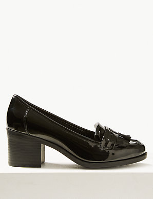 18f635ffff Wide Fit Fringe Detail Loafers   M&S Collection   M&S