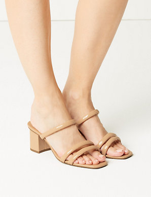 1fee3abdd3e Product images. Skip Carousel. Wide Fit Multi Strap Mules