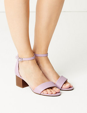 befea569ddaf Wide Fit Two Part Ankle Strap Sandals
