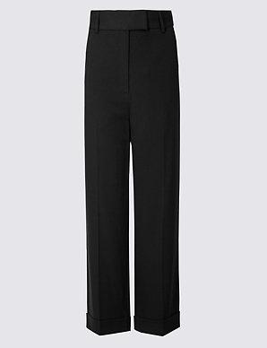 new varieties elegant shape hot-selling newest Wide Leg Ankle Grazer Trousers