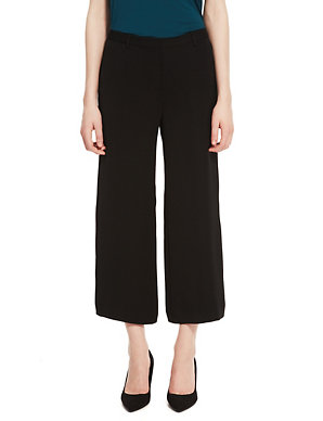 M/&S Collection Wellbeing Size 10 Cropped Crop Jogging Pants