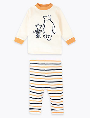 ebb6687871149 Winnie the Pooh & Friends™ Top & Leggings Outfit   M&S