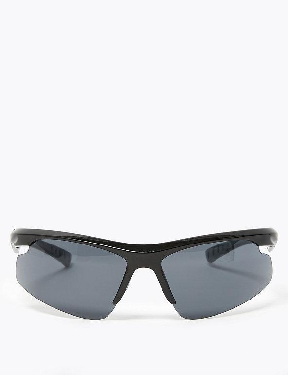 Wrap Around Sport Sunglasses M S Collection M S