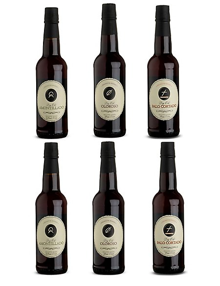 Gold Medal Sherry Selection- Case of 6