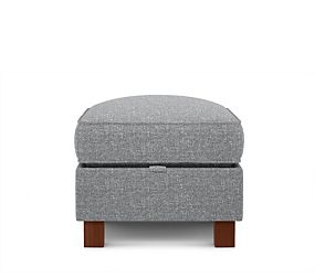 Small Storage Footstool