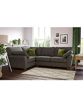 Camborne Small Corner Sofa (Left-Hand)