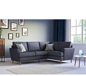 Copenhagen Extra Small Corner Sofa (Right Hand)
