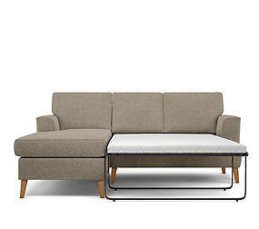 Copenhagen Corner Chaise Storage Sofa Bed (Left-Hand)