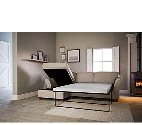 Abbey Corner Chaise Storage Sofa Bed (Left-Hand)