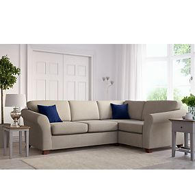 Abbey Small Corner Sofa Right Hand