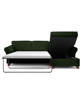 Abbey Corner Chaise Storage Sofa Bed (Right-Hand)