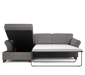 Abbey Corner Chaise Storage Sofa Bed (Left Hand)