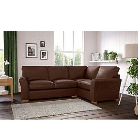 Lincoln Small Corner Sofa Right Hand