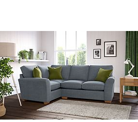 Small Grey Corner Sofa | New House Designs