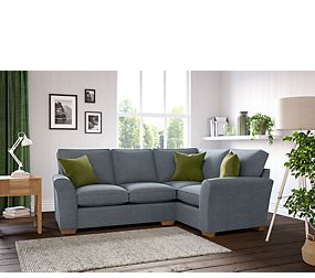Lincoln Extra Small Corner Sofa (Right-Hand)