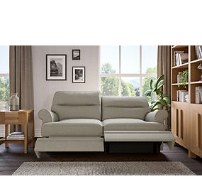 Berkeley Split Back Small Recliner (Electric)