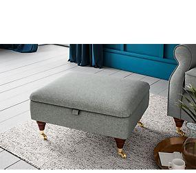 Salisbury Storage Footstool