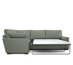 17e7493aa7 Nantucket Small Corner Sofa Bed (Left-Hand)