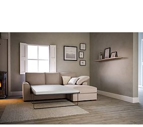Nantucket Corner Chaise Storage Sofa Bed (Right-Hand)