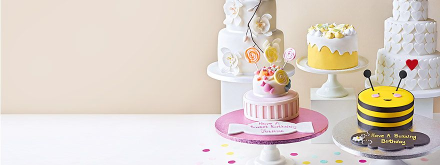 Shop our new cake range