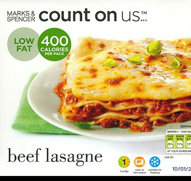 Count on Us risotto original packaging