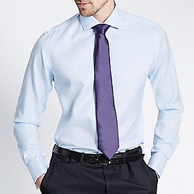 Man wearing blue shirt