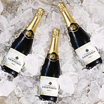 Louis Vertay champagne on ice