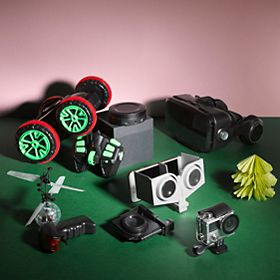 Various gadgets and toys