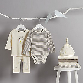 New Organic baby clothes and blankets at M&S