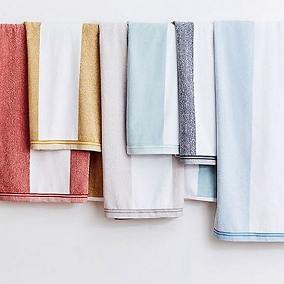Striped towels