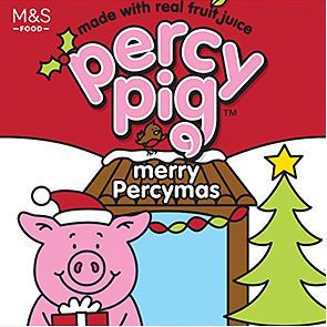 Percy Pig Merry Percymas sweet packet
