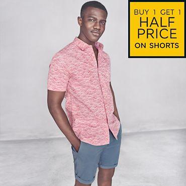 b5230605 Men's shorts: buy one, get one half price