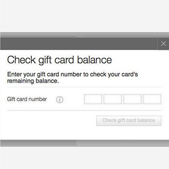 To check the balance on your gift card, select the merchant name from the list below or type it into the space provided and you will be directed to a page with information on how to check the balance .