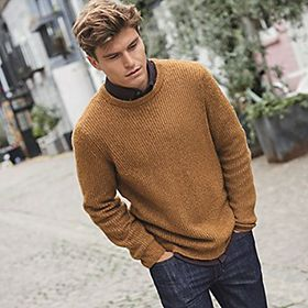 Man wearing jumpers