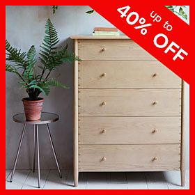 Karlson wooden chest of drawers