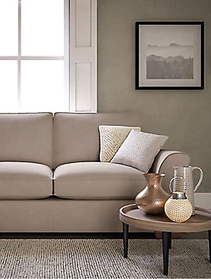Lincoln sofa in living room