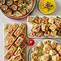 Partyfood and sharing platters