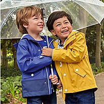 Kids wearing M&S coats