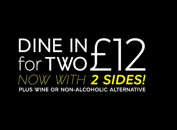 Dine In for two £12