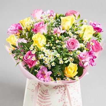 5575efbf7 Brighten their day with £5 off our rose and freesia gift bag