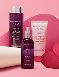 Ragdale spa set