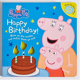 Peppa Pig Happy Birthday book
