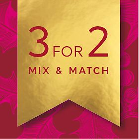 3 for 2 Mix & Match graphic