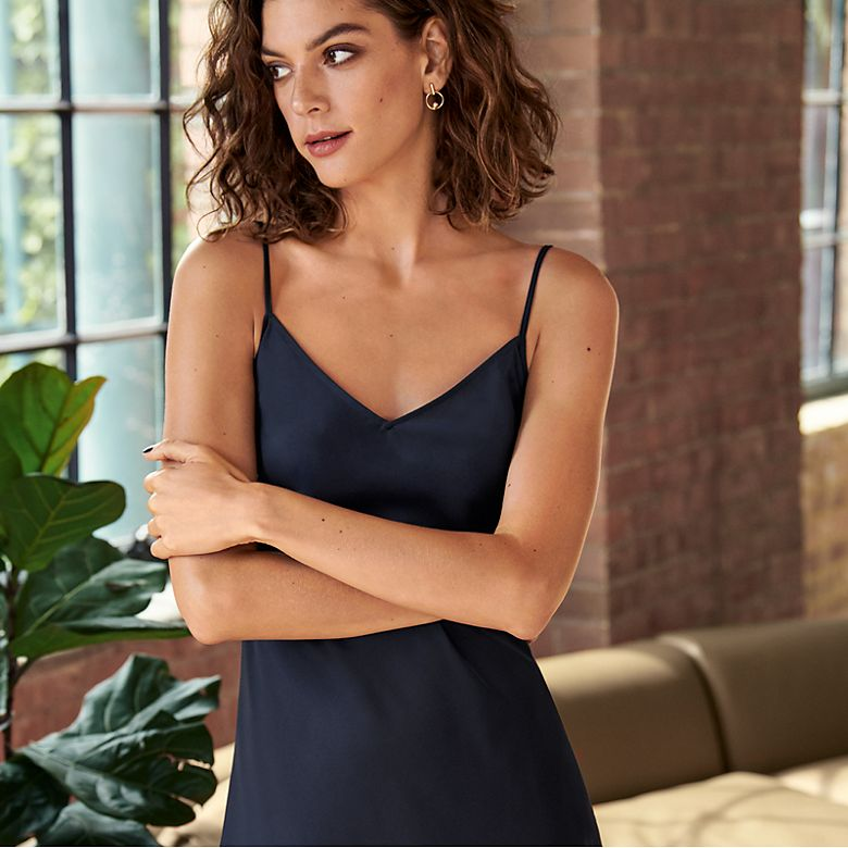 Woman wearing Autograph camisole dress