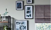 Photo frames with pictures
